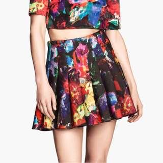 H&M Skirt in Scuba Fabric