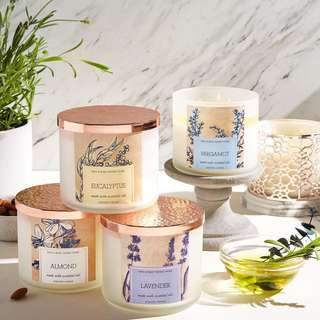 [PREORER] Bath and Body Works 3-wick candles