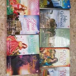 Koleksi Novel Historical Romance (Bekas)