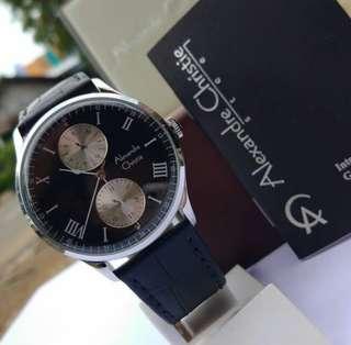 Jam tangan alexandre christie 6437 original