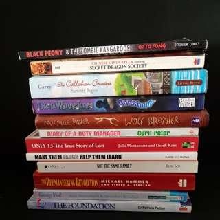 English books at $5 each