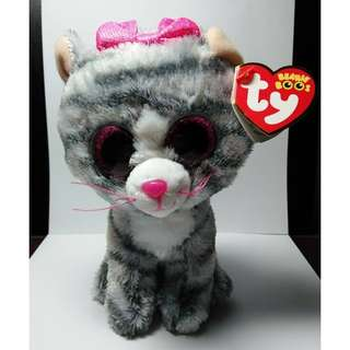 "ty Beanie Boos ""Kiki"" Cat Stuffed Toy"