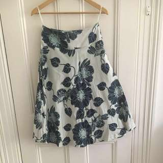 #CHEAPASCHIPS David Lawrence floral skirt