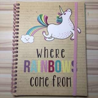 Typo Unicorn Notebook