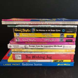 English story books at $2 each
