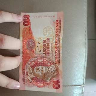 RM10 old money