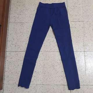 Blue Electric Stretch Trouser