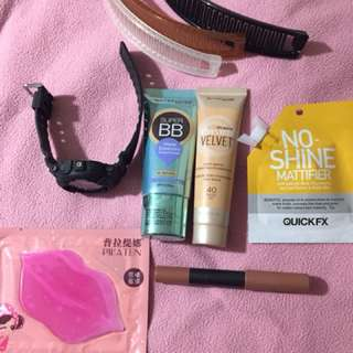 Makeup package with Baby g watch