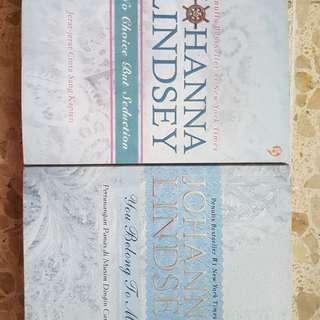 Koleksi Novel Historical Romance by Johanna Lindsey (BEKAS)