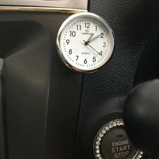 Car brand quartz clock