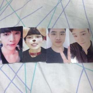 [UNOFFICIAL] EXO PHOTOCARD (CHEN, LAY, CHANYEOL, D.O)