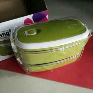 2 Tier lunch box (stainless steel)