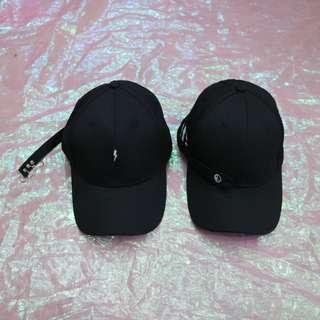 🚚 閃電圓環/太極造型帶中性老帽