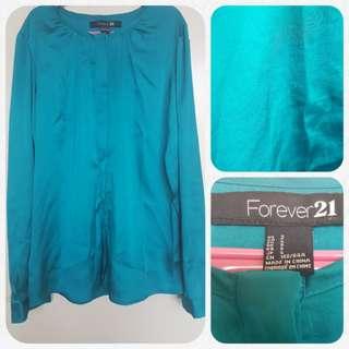 Forever 21 Satin blouse