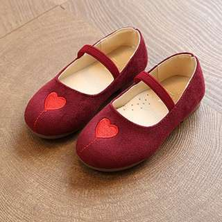 Heart shape cover shoe