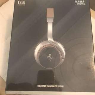 T250 Logic3 Headphones Ferrari Cavallino Collection