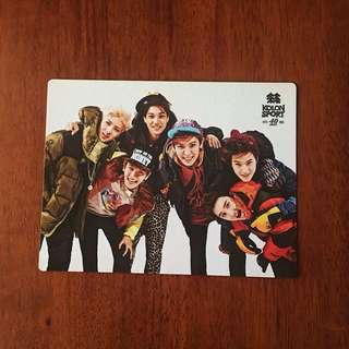 EXO-K OT6 KOLON SPORTS OFFICIAL PHOTOCARD