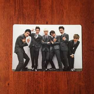 EXO-K OT6 GROWL OFFICIAL PHOTOCARD