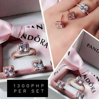 Pandora Jewelry Set Actual photo