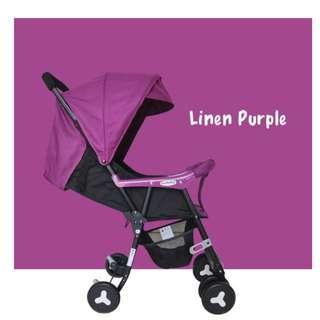 Seebaby QQ2 Stroller / Pram (Purple)