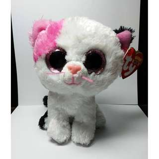 """ty Beanie Boos """"Muffin"""" Cat Stuffed Toy"""