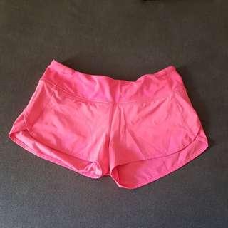 LULULEMON Run:Speed shorts Size4(AUS8) Neon Pink