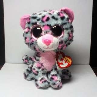 "ty Beanie Boos ""Tasha"" Leopard Stuffed Toy"