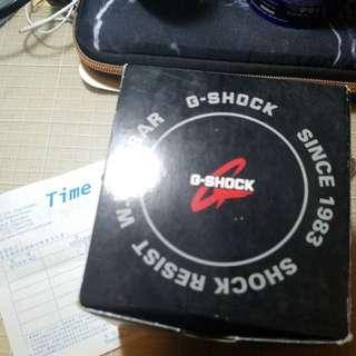 Casio G-shock手錶有單有盒