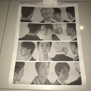 WINNER OFFICIAL POSTER