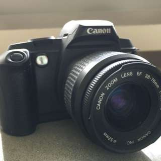 Canon EOS5000 (known as the EOS888 in Asia) with lens