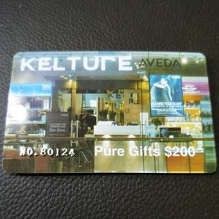 Kelture Pure-Gifts $200