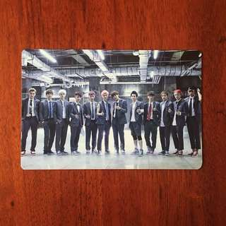 EXO OT12 GROWL SM EVERYSING OFFICIAL PHOTOCARD