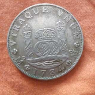 Old hispanic coins