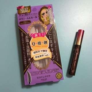 Kiss Me瞬翹自然捲濃密防水睫毛膏 玫瑰棕