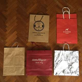 MORE FREE PAPER BAGS