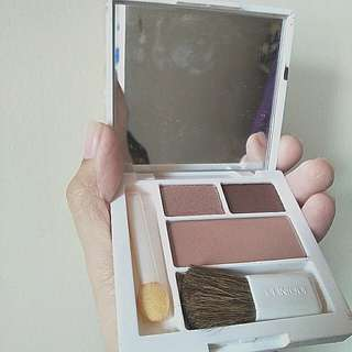 Clinique eyeshadow and blush set