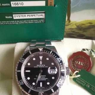 Rolex Submariner LN16610