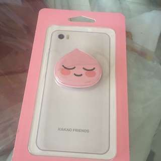 Sealed Instock Official Kakao Friends Apeach slim grip Tok