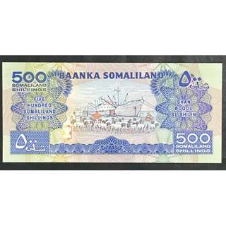 Somaliland 500 shillings 1996 Unc