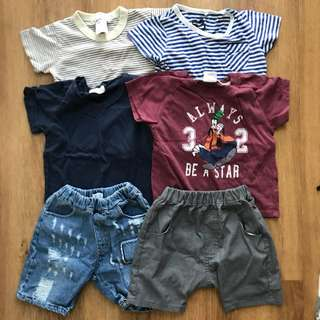 Assorted Boys' Tees & Shorts