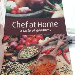 chef at home recipe book
