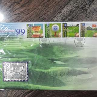 M'sia World Cup Golf '99 FDC