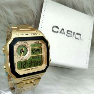 *CASIO STEEL LIMITED EDITION WATCH*