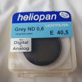 Heliopan ND 0.6  filter E40.5