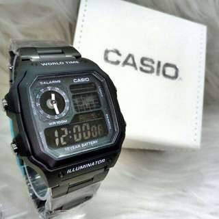 *CASIO STEEL LIMITED EDITION WATCH* (1)