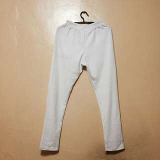 White Jogger Pants (BNew with tag)