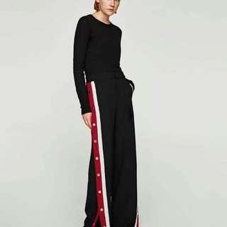 Replika zara trousers stripe woman