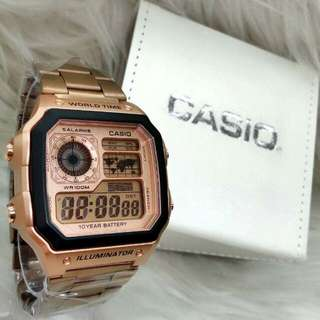 *CASIO STEEL LIMITED EDITION WATCH* (2)