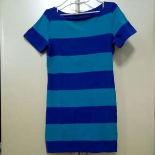 F21 Striped dress