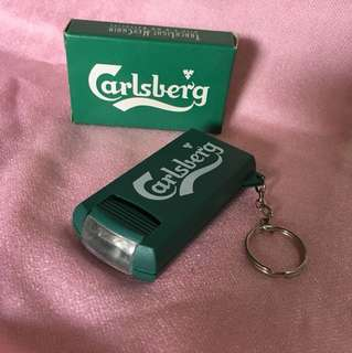 Carlsberg Torchlight Keychain